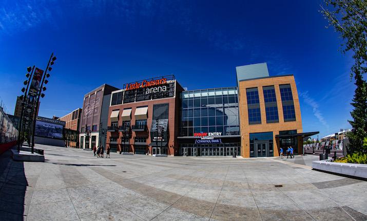 Detroit's Little Caesars Arena Welcomes 150+
