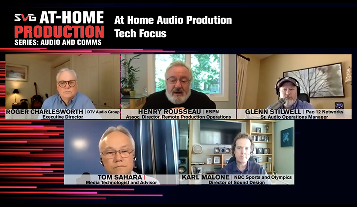 2020 SVG At-Home Production Series – Audio and Communications: REGISTER HERE TO WATCH