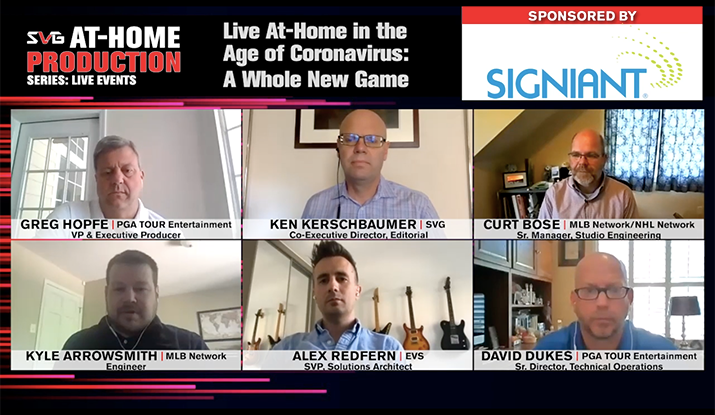 2020 SVG At-Home Production Series –Live Events: REGISTER HERE TO WATCH