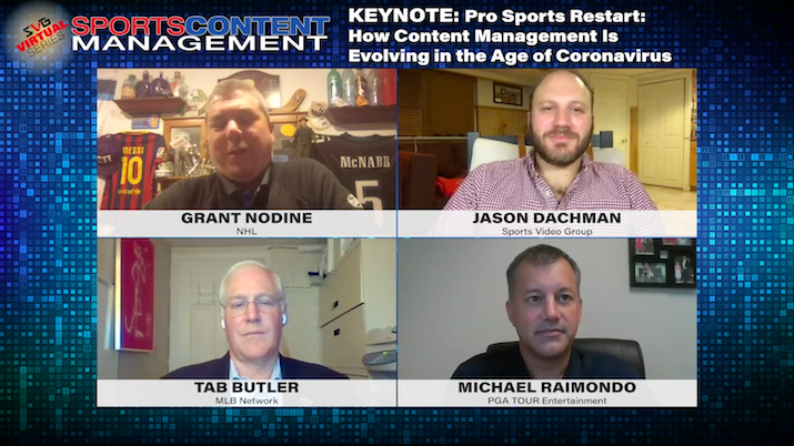 2020 Sports Content Management Virtual Series –MAM and Orchestration Tools: REGISTER HERE TO WATCH
