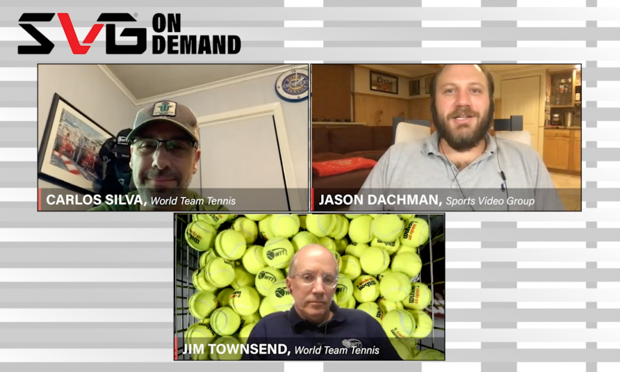 """SVG On Demand: World TeamTennis CEO Carlos Silva, EP Jim Townsend Dissect the Production In The Greenbriar """"Bubble"""""""